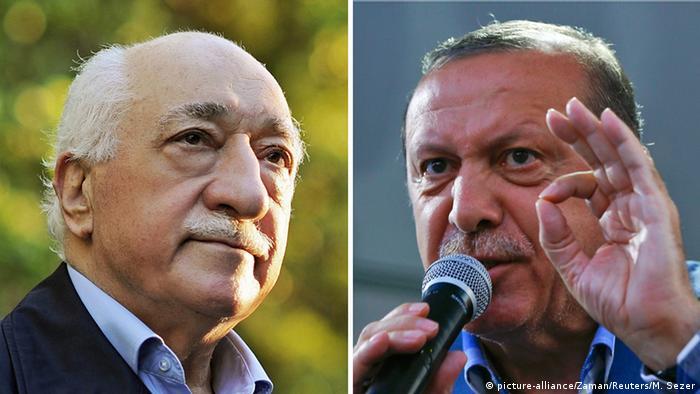 Bildkombo Fethullah Gülen / Tayyip Erdogan (picture-alliance/Zaman/Reuters/M. Sezer)