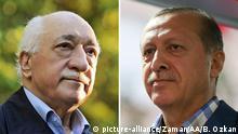 Bildkombo Fethullah Gülen / Tayyip Erdogan