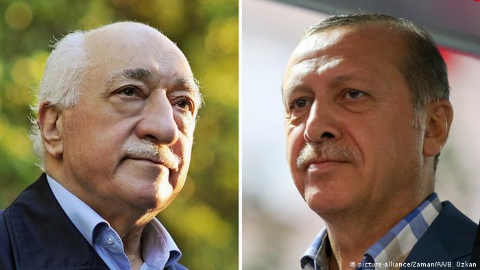 Fethullah Gülen and Recep Tayyip Erdogan