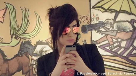 Qandeel Baloch Bloggerin