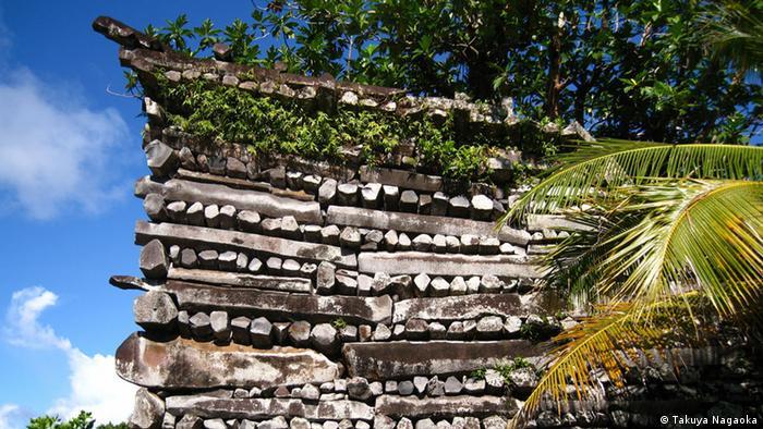 Нан-Мадол в Микронезии