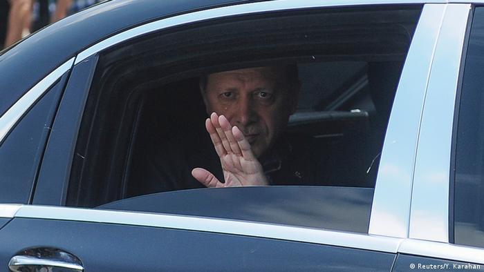 Ердоган після невдалої спроби путчу проти нього