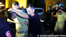 Türkei Istanbul Polizei Festnahmen