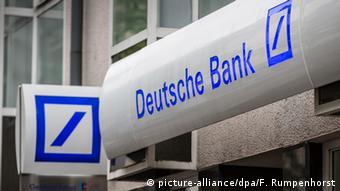 Symbolbild Das Logo der Deutschen Bank
