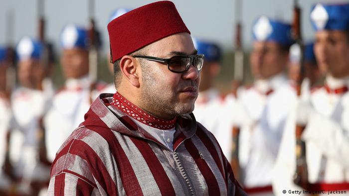 Marokko König Mohammed VI in Rabat