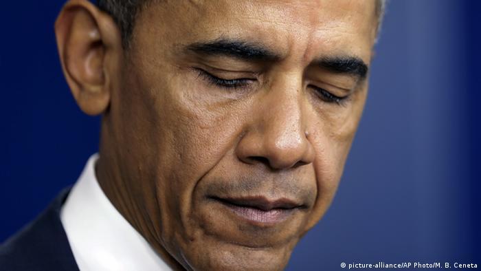 USA Barack Obama Rede über die Baton Rouge