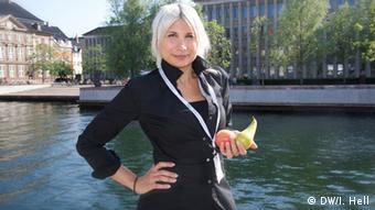 Ativista antidesperdício Selina Juul é ícone na Dinamarca