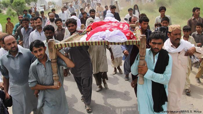 Pakistan Beerdigung Qandeel Baloch
