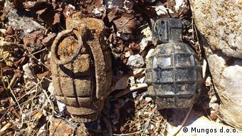Dvije pronađene mine