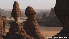 Africa, Chad, View of rock formation at Ennedi range +++ (C) Imago/Westend61