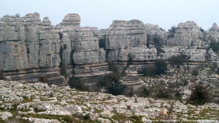 UNESCO Welterbe Spanien Dolmen Antequera