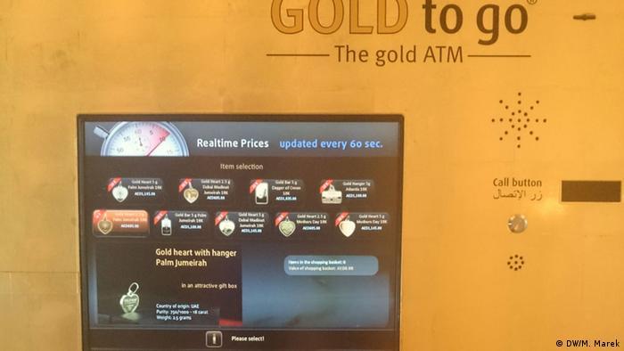Dubai Goldautomat