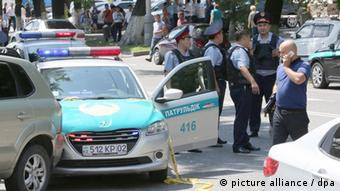 Kazakhstan: Attack on police station in Almaty (picture alliance / dpa)