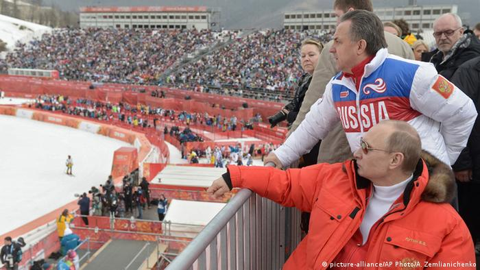Russland Olympia Sochi Putin