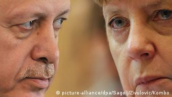 Президент Турции и канцлер Германии