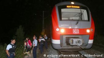 Поезд, в котором было совершено нападение