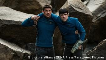 Star Trek Beyond Zachary Quinto and Karl Urban, Copyright: picture-alliance/ZUMA Press/Paramount Pictures