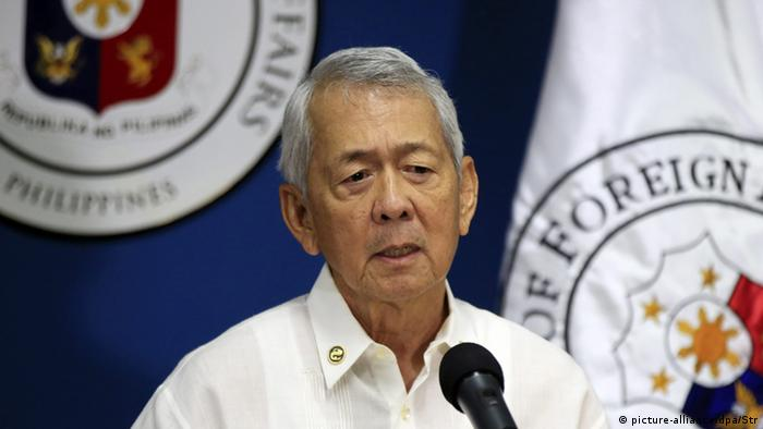 Philippinen Außenminister Perfecto Yasay (picture-alliance/dpa/Str)