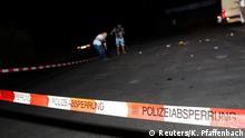 Deutschland Attacke in Regionalzug bei Würzburg