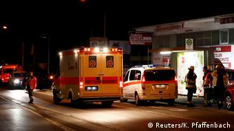 На месте трагедии в Вюрцбурге