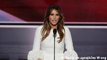 Melania Trumps Rede auf der Republican National Convention in Cleveland