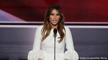 Melania Trumps Rede auf der Republican National Convention in Cleveland (Getty Images/Alex Wong)