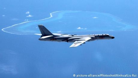 China Südchinesisches Meer Militärmanöver (picture-alliance/Photoshot/Xinhua/Liu Rui)