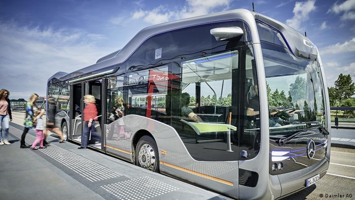 Mercedes-Benz Future Bus mit CityPilot