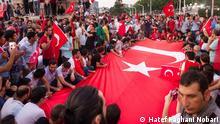 Türkei Stimmung auf dem Taksim-Platz in Istanbul