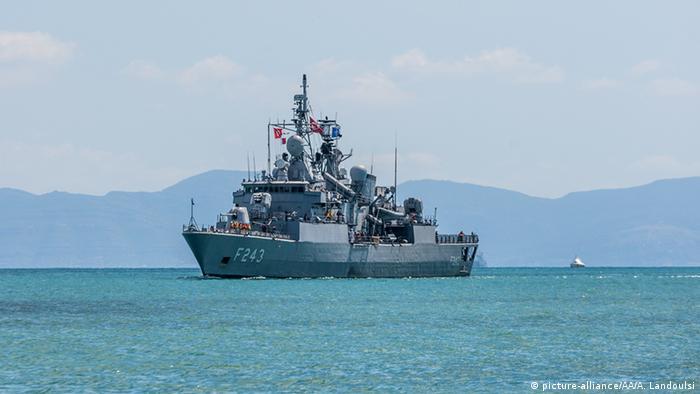 Турецкий фрегат Йылдырым