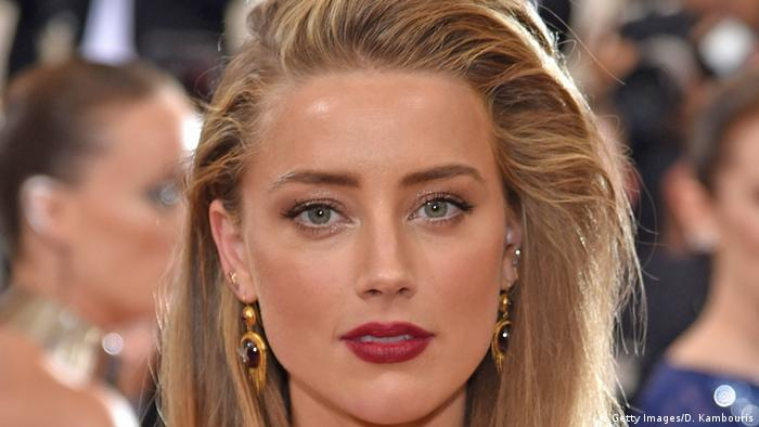 USA Schauspielerin Amber Heard in New York