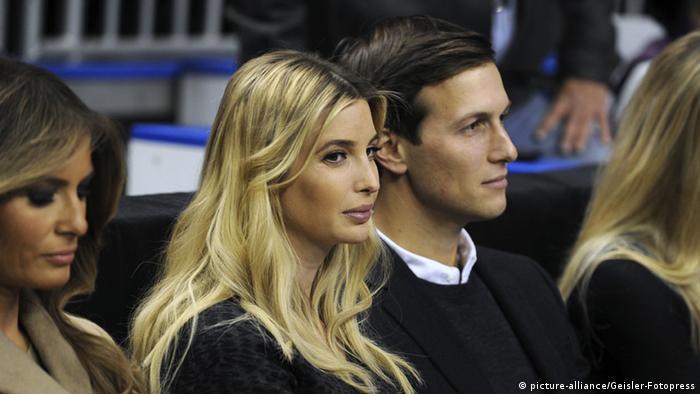 Ivanka Trump mit Ehemann Jared Kushner