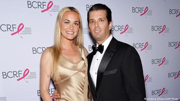 Donald Trump Jr. mit Ehefrau Vanessa