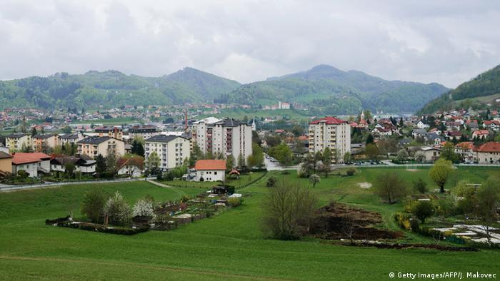 Slowenien Stadt Sevnica (Getty Images/AFP/J. Makovec)