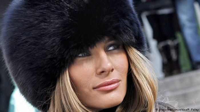 Melania Trump (picture-alliance/dpa/P. Foley)