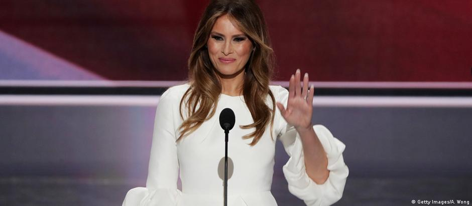 USA Melania Trump in Cleveland (Getty Images/A. Wong)