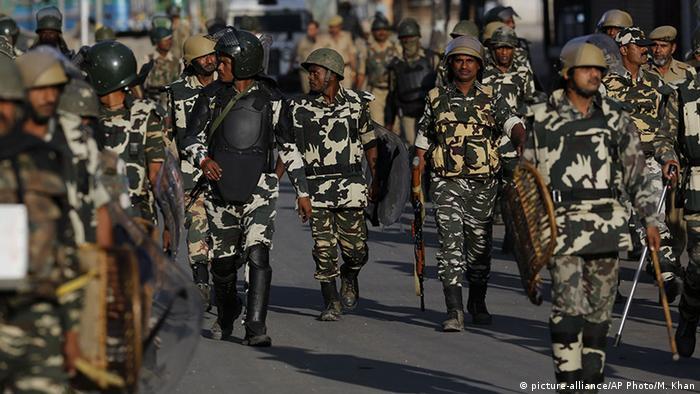 Kaschmir - Proteste in Srinagar