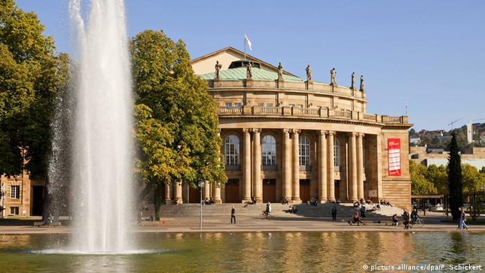 The Stuttgart State Theater (picture-alliance/dpa/P. Schickert)