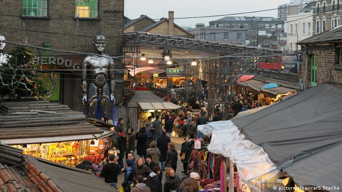 UK Camden Lock market