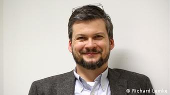 El catedrático Oliver Quiring, de la Universidad de Maguncia.