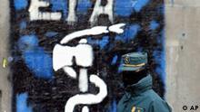 Spanien ETA erklärt Waffenruhe