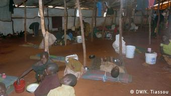 Un camp de refugiés burundais en Tanzanie