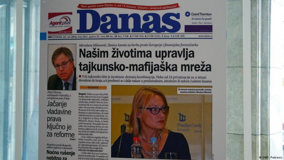 Media në Serbi  Shteti blen raportim oborrtarësh