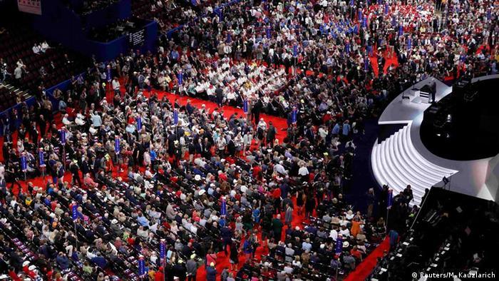 Съезд Республиканской партии в Кливленде
