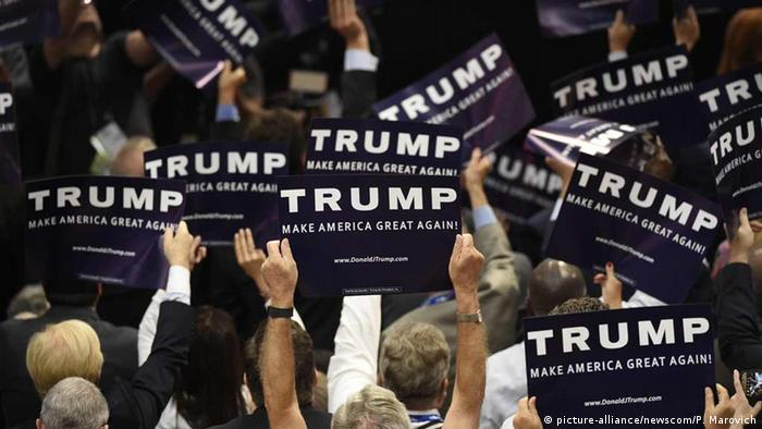 На съезде Республиканчской партии в Кливленде