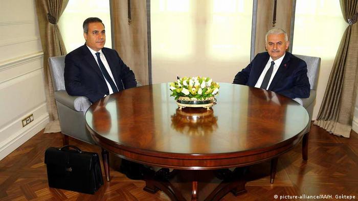 Türkei Binali Yildirim und Hakan Fidan