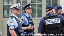 Deutschland Kooperation zwischen Sicherheitskräfte