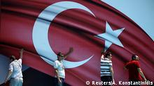 Türkei Symbolbild AKP Anhänger Nationalismus