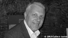 Pavel Scheremet, russischer Fernsehjournalist, am 27. September 2014 in Sankt Petersburg (c) DW/Vladimir Izotov