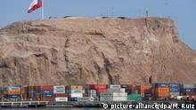 Bolivien Hafen Arica